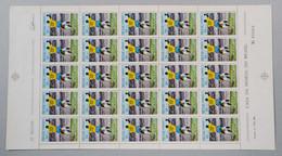 BRA006 - BRASIL 1969 - EDSON ARANTES DO NASCIMENTO DIT PELE' - FOLHA INTEIRA  - MNH - Zonder Classificatie