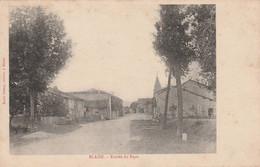 Blaise  - Entrée Du Pays  - Scan Recto-verso - Sonstige Gemeinden
