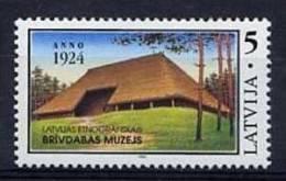LETTONIE 1994, 1 Valeur MUSEE ETHNOGRAPHIQUE, Neuf / Mint. R264 - Lettonie