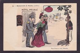 CPA Madagascar Satirique Caricature Reine Ranavalo Non Circulé - Madagascar