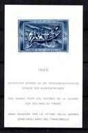 Suisse Bloc-feuillet YT N° 11 Neuf *. B/TB. A Saisir! - Blocks & Sheetlets & Panes