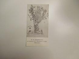 M.SS.Incoronata Santuario S.Bartolomeo In Galdo Benevento Preghiera Al Verso - Devotion Images
