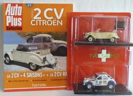 CITROEN 2CV 4 SAISON + 2CV RAID ( PACK De 2 Miniatures ) - Eligor