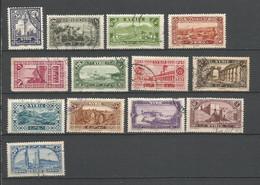 Timbre De Colonie Française Syrie Oblitéré N 154/166 - Usati