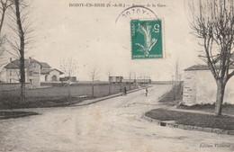 ROZAY-en-BRIE (Seine & Marne) - Avenue De La Gare. Edition Vanncrot - Rozay En Brie