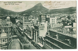 Cape Town Lion Head 1912 - South Africa