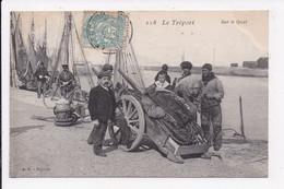 CP 76 LE TREPORT Sur Le Quai - Le Treport