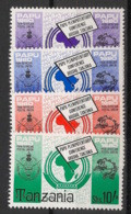 Tanzania - 1980 - N°Mi. 153 à 156 - Conférence - Neuf Luxe ** / MNH / Postfrisch - Tanzania (1964-...)