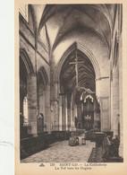 Saint Lo  La Cathedrale   La Nef  Vers Les Orgues - Saint Lo