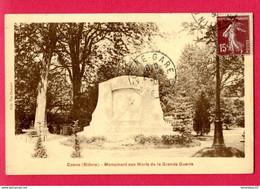 CPA (Ref : AA 543) Cosne (58 NIÈVRE) Monument Aux Morts De La Grande Guerre - Cosne Cours Sur Loire