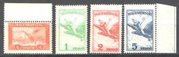 Ungheria 1930 Unif.A20/23 **/MNH VF/F - Ungebraucht