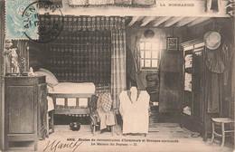 La NORMANDIE La Maison Du Paysan Pot De Chambre Armoire Lit Etudes De Reconstitution D'Intérieurs Et Groupes Normands. - Haute-Normandie