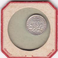 UN LOT DE DE 10 PIECES DE 50 CENTIMES SEMEUSE  EN ARGENT - G. 50 Centimes