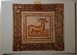 Tunisia, تونس, Tūnisiya, Tunisie - Musee National Du Bardo - Mosaic, Mosaique - Deer, Biche - Tunisia