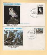 Nouvelle Caledonie - FDC - 1983 - Les Oiseaux Rapaces - Briefe U. Dokumente