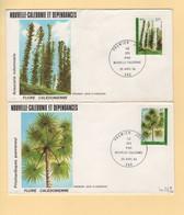 Nouvelle Caledonie - FDC - 1984 - Flore Caledonienne - Briefe U. Dokumente
