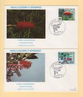 Nouvelle Caledonie - FDC - 1981 - Flore Caledonienne - Briefe U. Dokumente