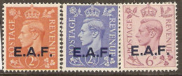 British Post Offices  Forces M E F  1943  Various Values Lightly Mounted Mint - Autres