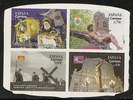 2019-ED. 5308 A 5311-  SEMANA SANTA Albacete, Azuaga, Balmaseda Y Medina De Rioseco -NUEVO - 2011-... Unused Stamps