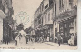 ALGERIE - TLEMCEN - Rue De France  PRIX FIXE - Tlemcen