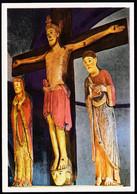 Italy Alto Adige, Pustertall Innichen / Stiftkirche Kreuzigungsgruppe 12. Jahrh., Collegiate Church Crucifixion Group - Other Cities