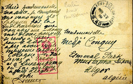 PREMIER GUERRE MONDIALE Cachet Stationary Office S.40 Berlin 27 Mars 1919 (Army Post Office) Carte De Cologne - Militares