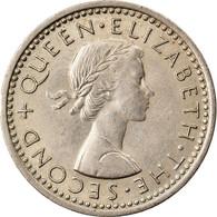 Monnaie, Nouvelle-Zélande, Elizabeth II, 3 Pence, 1960, TTB+, Copper-nickel - New Zealand