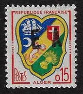 ALGERIE 1962 - YT1232** - SURCHARGE EA INTERDEPARTEMENTALE - Algeria (1962-...)