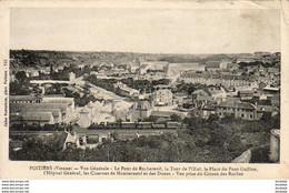 D86  POITIERS  Vue Générale - Le Pont De Rochereuil    ............. .  ( REP 1829) - Poitiers