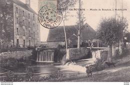 D28  Environs De NOGENT LE ROTROU  Le Moulin De Beaudolé à MARGON  ....... Carte Peu Courante - Nogent Le Rotrou