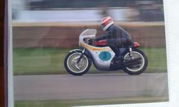 CARTE POSTALE MOTO COURSE MOTORCYCLE MOTOGP - Motos