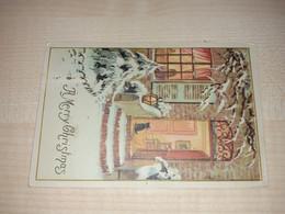 Christmas Postcard, Algeria Stamps, Alger Stamp, 1963 - Algeria (1962-...)