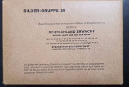 SAMMELWERK LARGE CIGARETTEN BILDERDIENST COLLECTION NR.29 -  50 LARGE PIECES ALMOST NEW! (SIZE 17,5X12 CM) - Guerra 1939-45