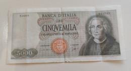 5000 Lire Galileo Testa Di Medusa 1964 - 5000 Lire
