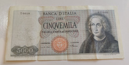5000 Lire Galileo Testa Di Medusa 1968 - 5000 Lire