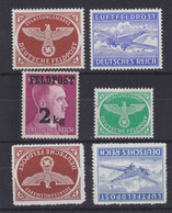 Dt.Bes.2.WK Lot Feldpostmarken Ex MiNr. 1-4 ** - Occupation 1938-45