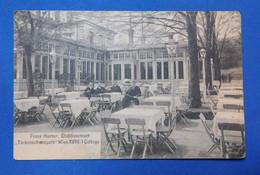 "Franz Harner Etablissement - Kaffee Restaurant ""Türkenschanzpark"" Wien VIII/1 Cottage - RARE - Non Classificati"
