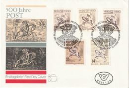 T 543) 500 Jahre Post: Gemeinschaftsausgabe BRD Berlin DDR Belgien Österreich - Post