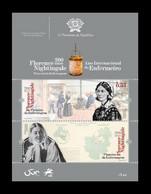 Portugal 2020 Mih. 4678/79 (Bl.468) Medicine. Founder Of Modern Nursing Florence Nightingale MNH ** - Ungebraucht