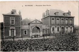 BETHUNE (62) PENSIONNAT SAINT-NICOLAS.1912. - Bethune