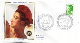 1982 --FDC  -MARIANNE De DELACROIX .....1.40f  Roulette.....cachet  PARIS -- 75   ....à Saisir - 1980-1989