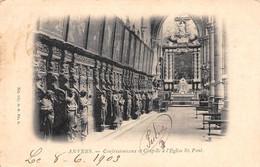 ANVERS - Confessionnaux Et Chapelle à L'Eglise St. Paul. - Antwerpen