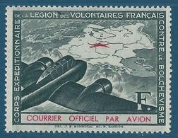 1941 - LVF - Légion Des Volontaires Français Contre Le Bolchevisme - N°2 Neuf Sans Gomme - Kriegsausgaben
