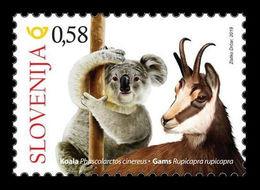 Slovenia 2019 Mih. 1398 Slovenes In Australia. Fauna. Koala And Chamois MNH ** - Slowenien