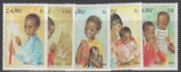 Zaire - #1037-41(5) - MNH - British Virgin Islands