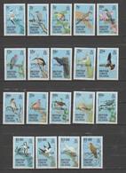 British Virgin Islands 1985 Complete Birds Set SPECIMEN ,MNH, Very Fine.Catalog Value $ 42.75 - British Virgin Islands