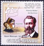 Nobel Chemistry Winner Henri Moissan, Guinea Bissau 2009 MNH - Nobelpreisträger