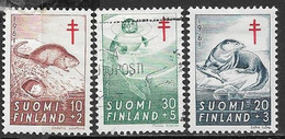 Finland  1961   Sc#B160-2   Charity Set  MH*/used   2016 Scott Value $6.35 - Unused Stamps