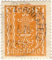 AUTRICHE / ÖSTERREICH - 1925 RECHNITZ-PINKAFELD Nr.403 Bahnpostempel On Mi.393 - Gebruikt