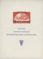 AUTRICHE / AUSTRIA / ÖSTERREICH 1965 Souvenir Sheet (NEUDRUCK) WIPA 1933 Stamp - Proofs & Reprints